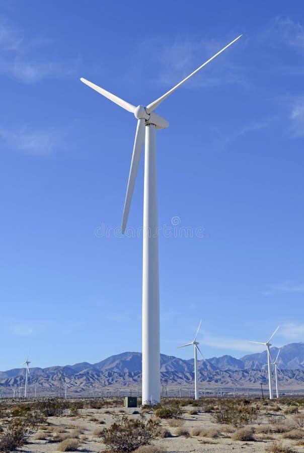Download Wind Turbine On Windfarm Southwest Desert Stock Photo - Image: 39285662