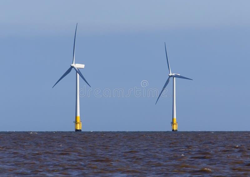 Wind-Turbinen lizenzfreie stockfotos