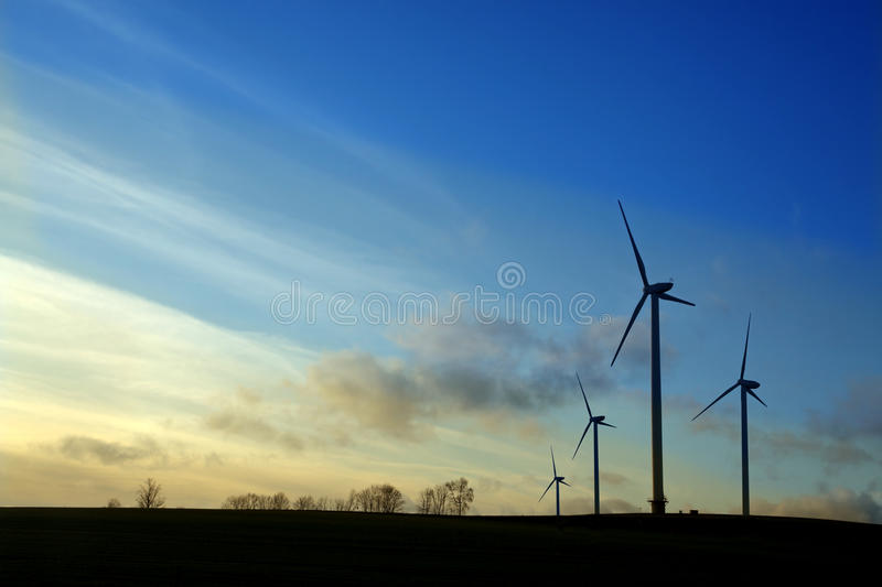 Download Wind Turbines Royalty Free Stock Photo - Image: 12125135