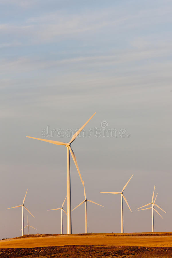 Download Wind turbines stock photo. Image of industrial, resource - 22410920