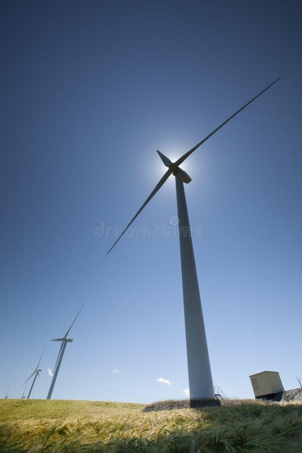 Free Wind Turbines Royalty Free Stock Image - 28607516