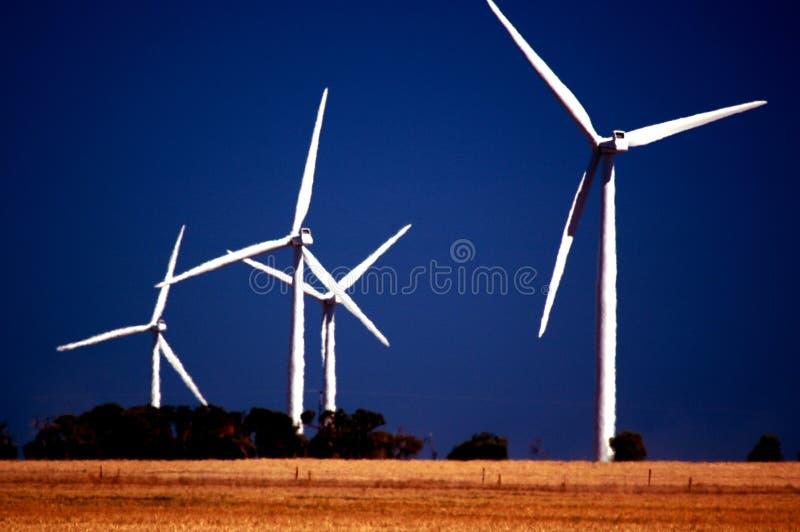 Wattle Point Wind Farm stock photo