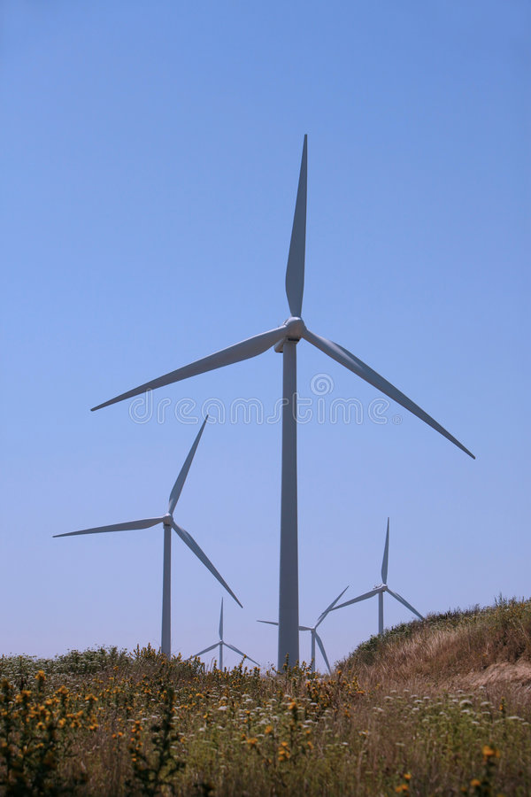 Download Wind Turbines Royalty Free Stock Photo - Image: 7119555