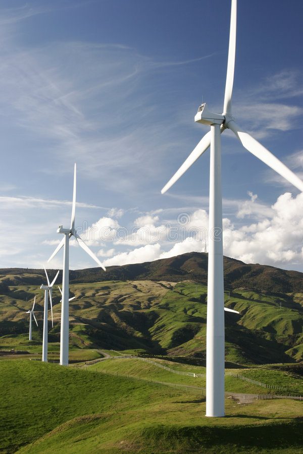 Free Wind Turbines Stock Photos - 840023