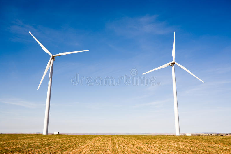 Download Wind turbines stock photo. Image of renewable, turbine - 9663268