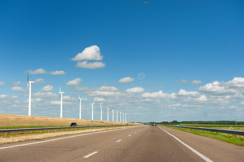 Download Wind Turbines In Agriculture Landscape Stock Photo - Image: 15503610