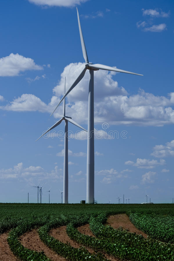 Download Wind Turbines In Countryside Stock Photo - Image: 26471332