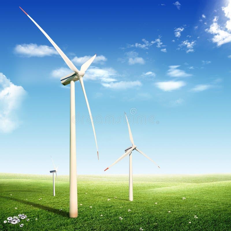 Download Wind Turbines (Eco Concept) Stock Photo - Image: 27147268