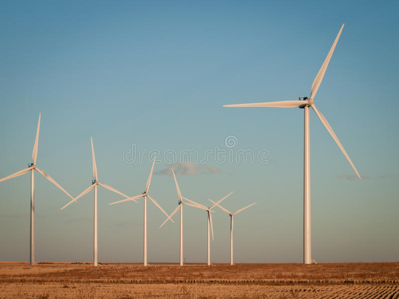 Download Wind turbines farm stock image. Image of rural, limon - 22169437