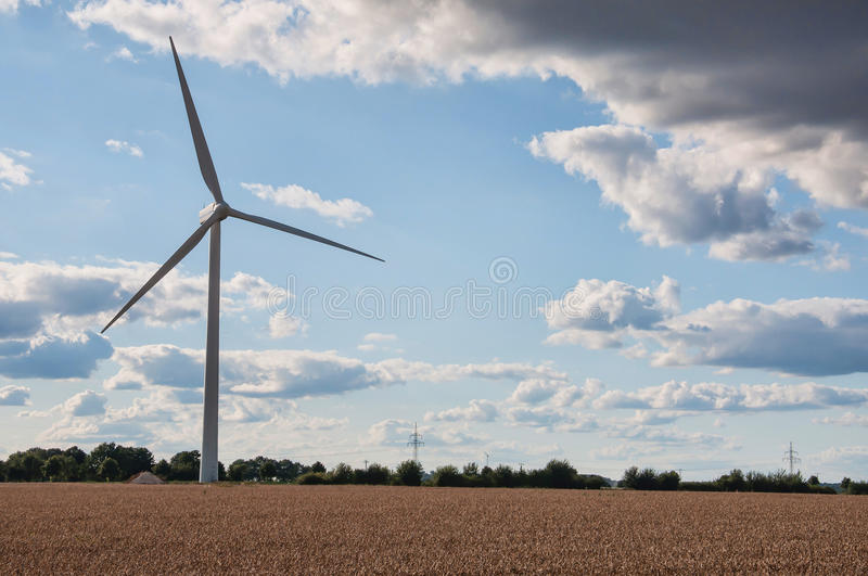 Download Wind turbines farm stock photo. Image of generation, electricity - 27086440