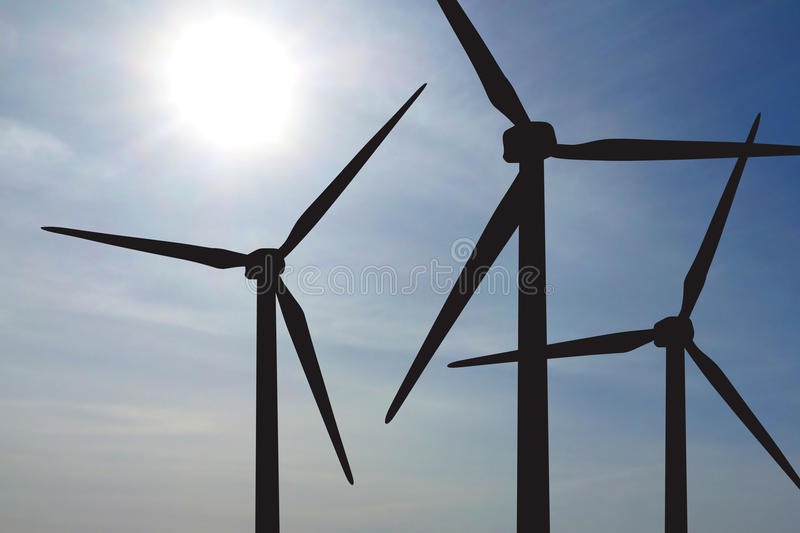 Download Wind Turbines Farm Royalty Free Stock Images - Image: 31546369