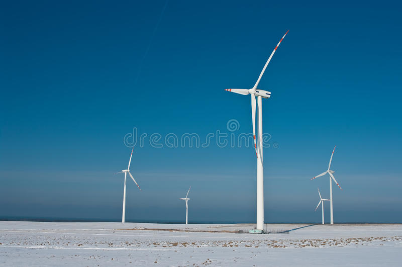 Download Wind turbines and shadow stock photo. Image of copy, nature - 23361334