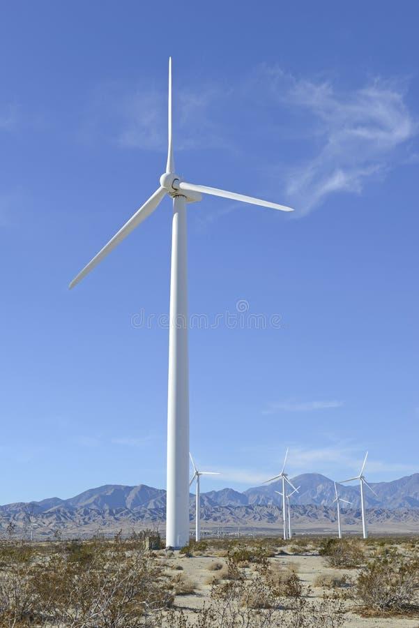 Wind Turbines in Wind Farm, Southwest USA