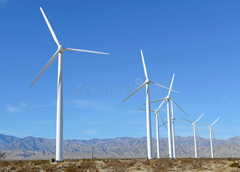 Download Wind Turbines In Wind Farm, Southwest USA Stock Photo - Image: 39285674