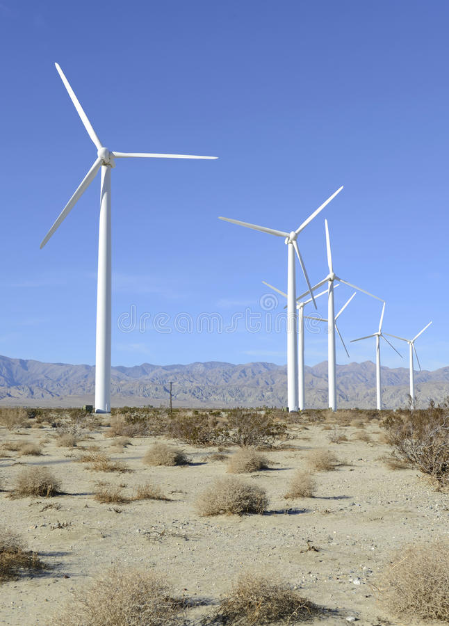 Download Wind Turbines In Wind Farm, Southwest USA Stock Photo - Image: 39285682