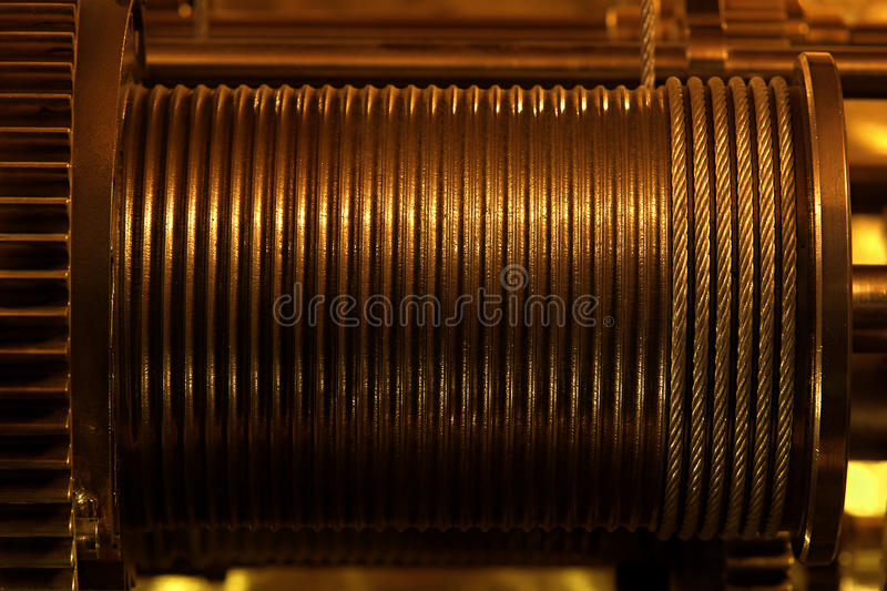 Download Wind-up device stock photo. Image of isolated, metal - 19917396