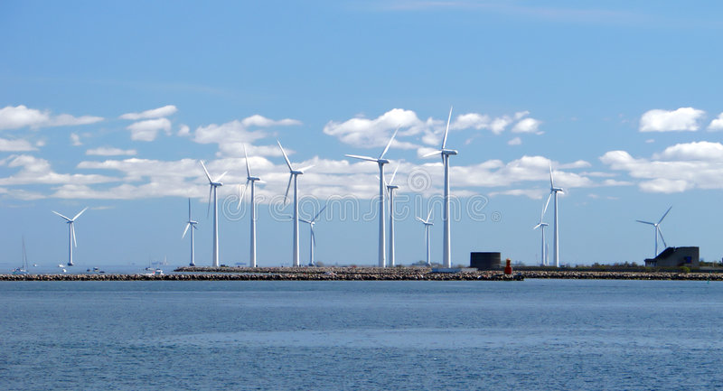 Windbauernhof w4 lizenzfreies stockfoto