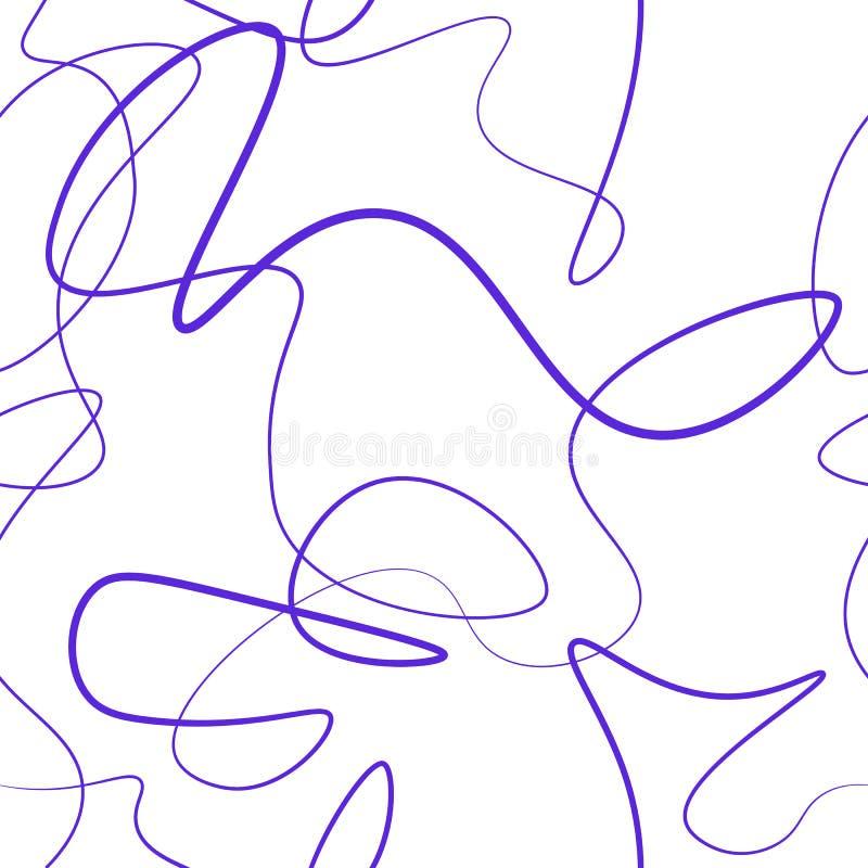 Windend lijnen naadloos patroon stock foto