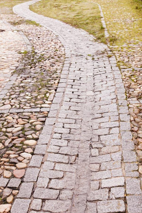 Download Windende weg stock afbeelding. Afbeelding bestaande uit rots - 29508299