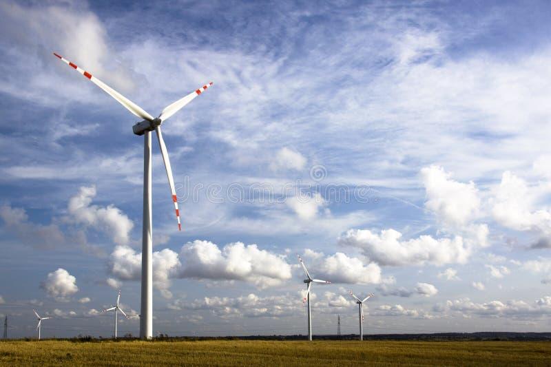 Windenergie stockbilder