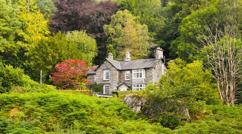 Windermere的一个房子 免版税库存图片