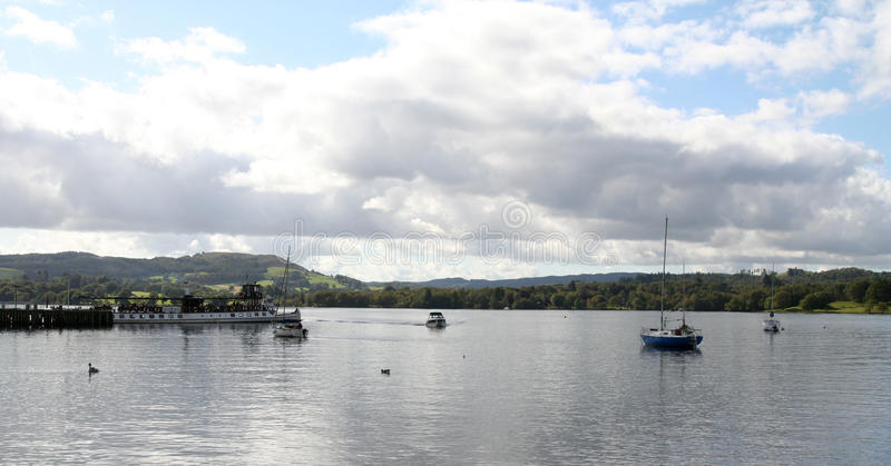 Download Windermere. stock photo. Image of lake, leisure, boats - 14356402
