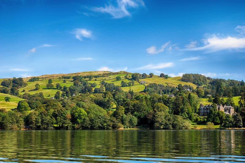 Windermere, distretto Regno Unito del lago immagine stock libera da diritti