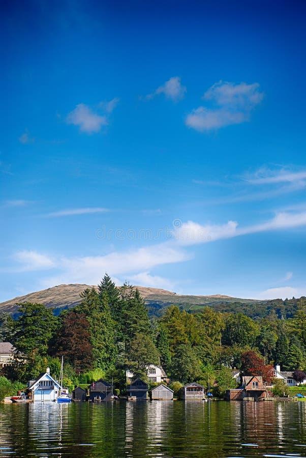 Windermere, distretto Regno Unito del lago fotografie stock
