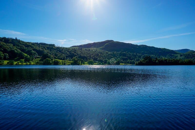 Windermere, distrito do lago, Reino Unido imagens de stock