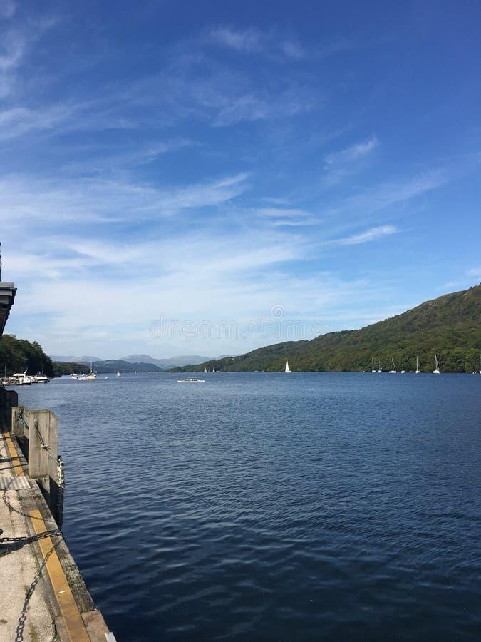 Windermere Lake stock photo