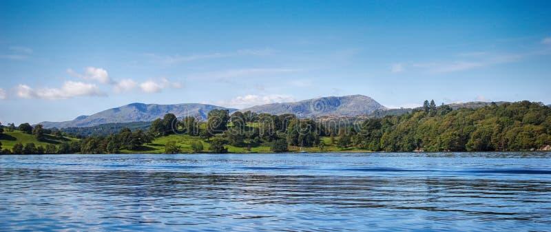 Windermere, secteur Royaume-Uni de lac image libre de droits