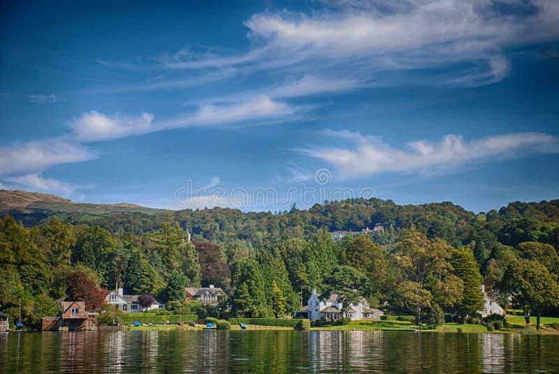 Windermere, secteur Royaume-Uni de lac photographie stock libre de droits