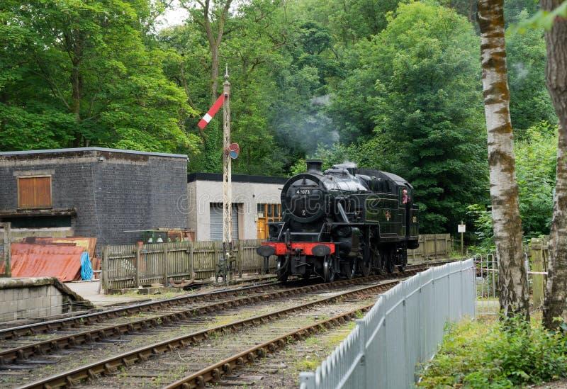WINDERMERE, SEE DISTRICT/ENGLAND - 21. AUGUST: 42073 BR Fairbur stockbilder