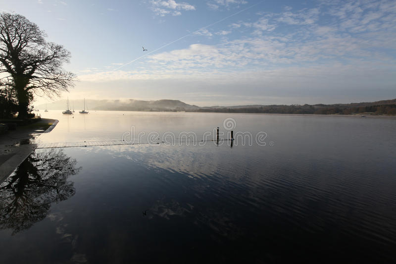 Download Windermere In Winter Stock Photos - Image: 12264413