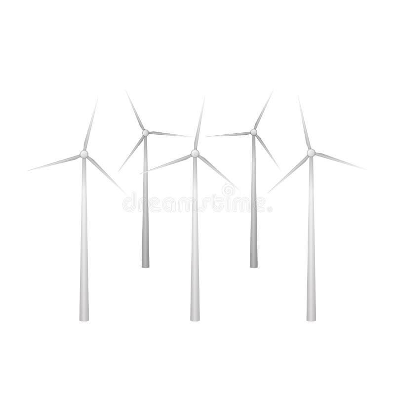 Windfarm例证 皇族释放例证