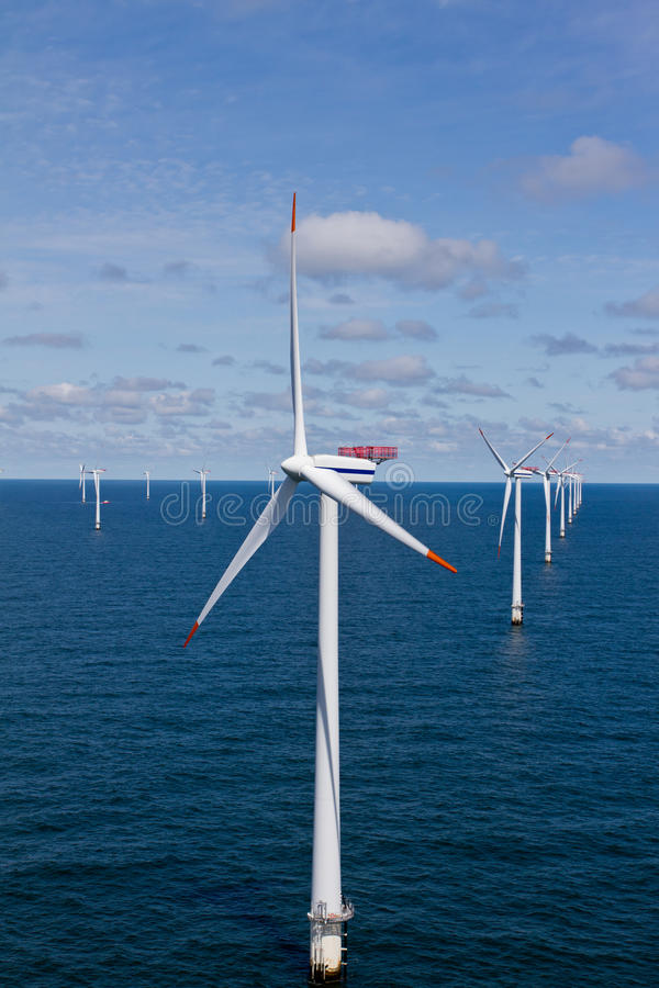 Windfarm royalty free stock image