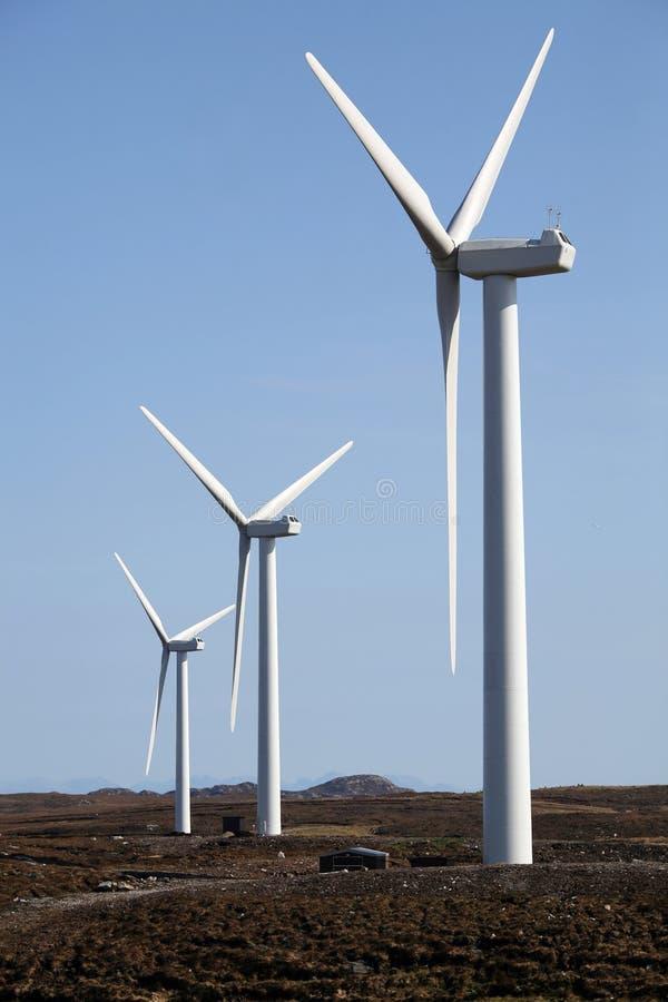 Windfarm stock photography