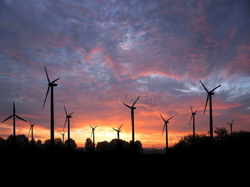 Windfarm obraz stock