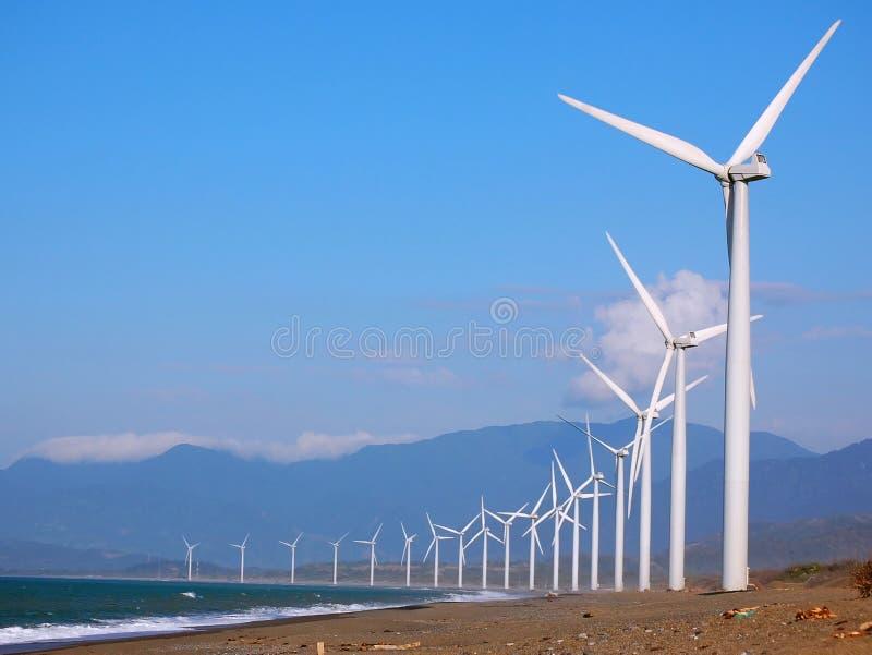 Windfarm fotografia de stock