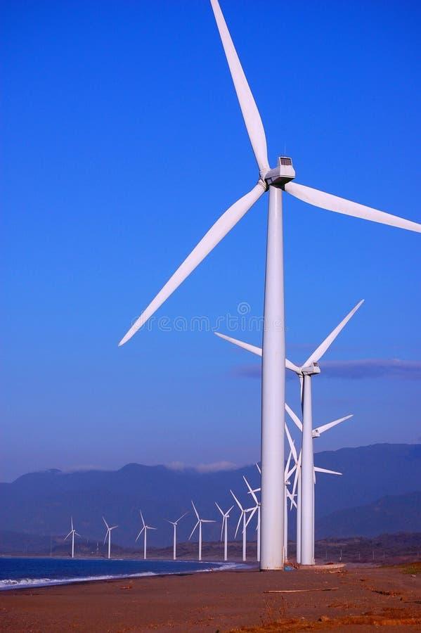 Windfarm fotografia de stock royalty free
