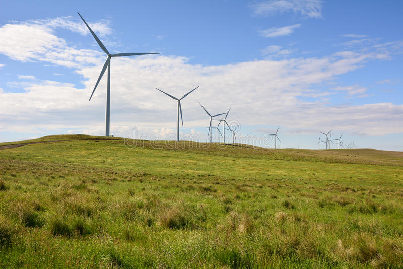 Windfarm royalty free stock photography