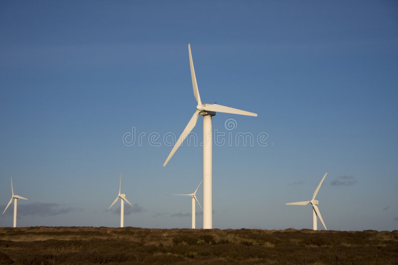 Windfarm, Ovenden, Yorkshire images stock