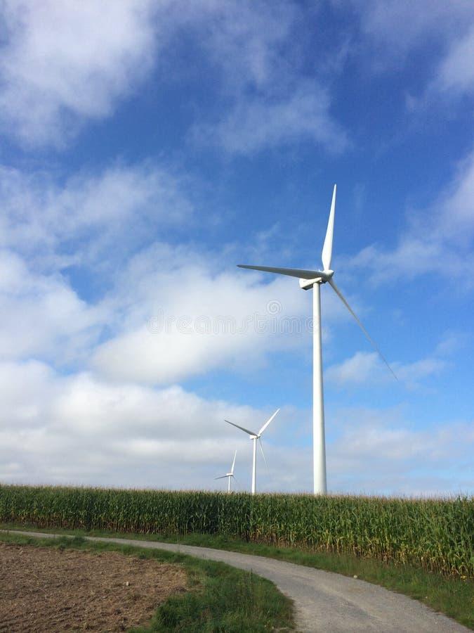 Windfarms stock photography