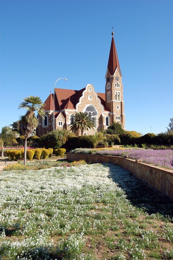 Windhoek Christuskirche photographie stock libre de droits