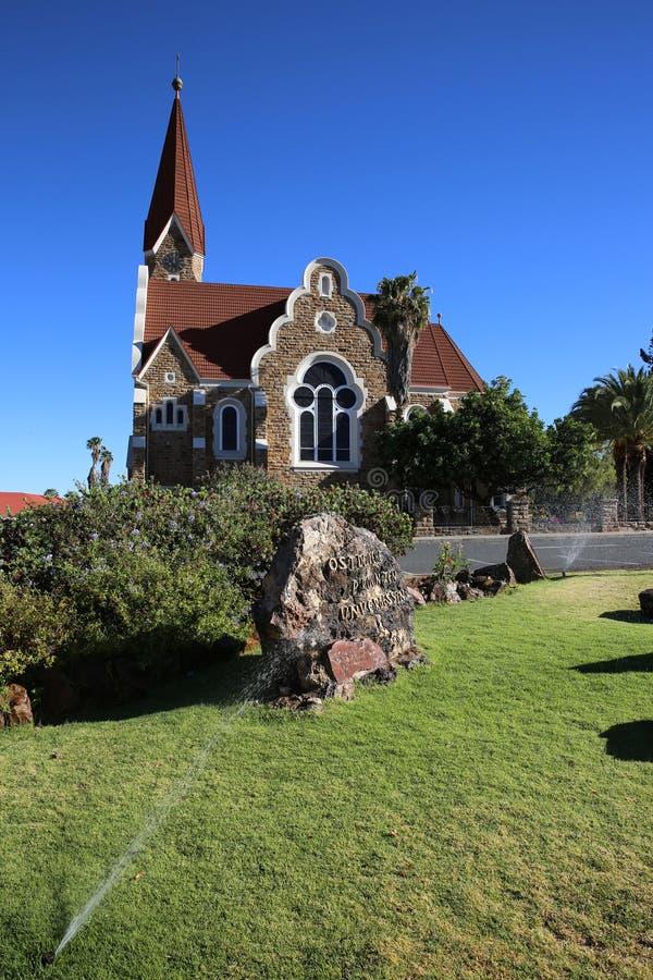 Download Windhoek Christuskirche stock image. Image of temple - 35267609