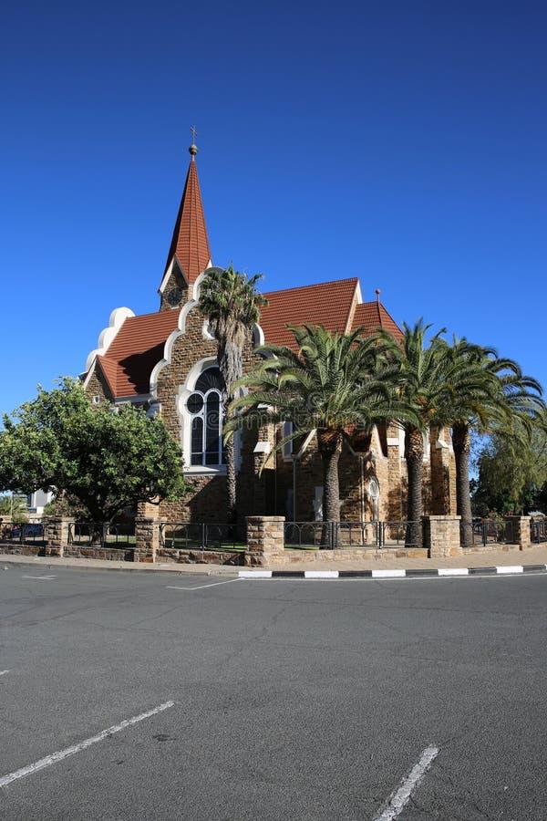 Windhoek Christuskirche Royalty Free Stock Images
