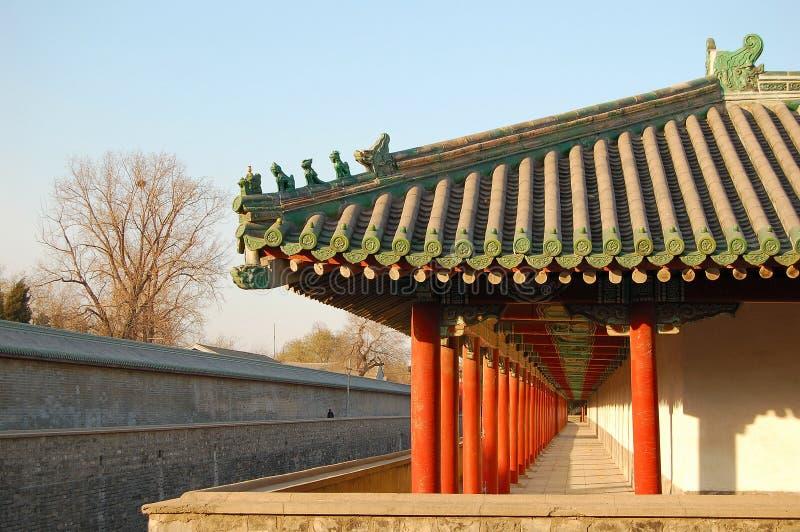 Download Winding Corridor stock photo. Image of china, hall, guard - 3398362
