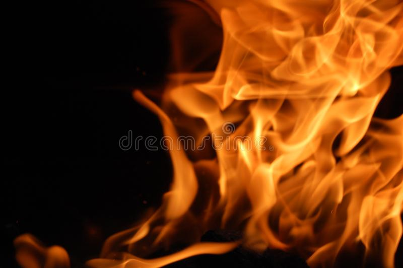 Winding Fire to right stock images