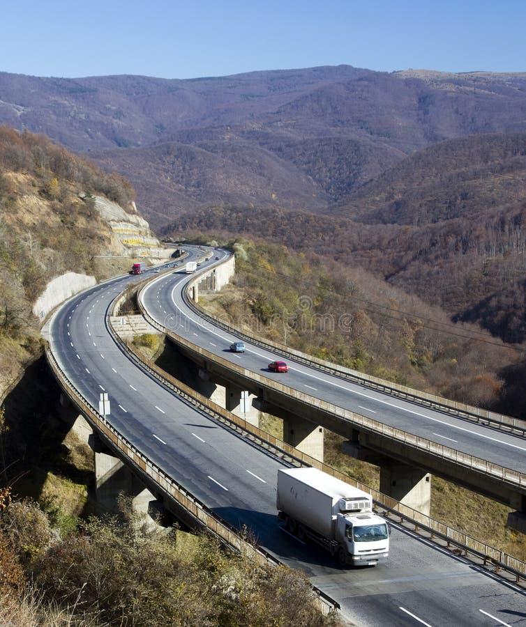Download Winding highway stock image. Image of road, winding, vehicle - 16861343