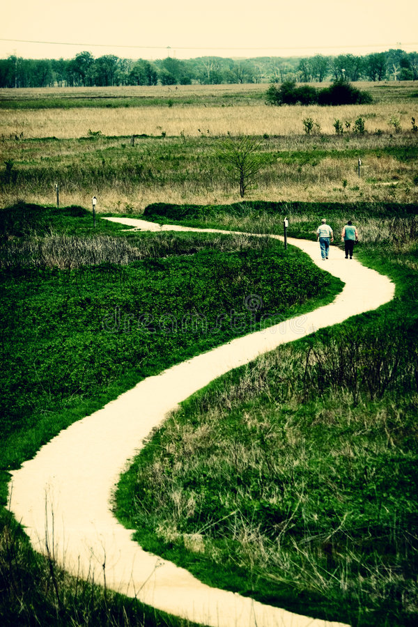 Free Winding Path Royalty Free Stock Photography - 2985497